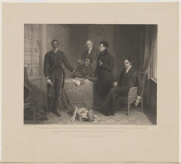 Jan or Dyani Tzatzoe (Tshatshu); Andries Stoffles; James Read Sr; James Read Jr; John Philip, by Richard Woodman, published by  Fisher Son & Co, after  Henry Room - NPG D8773