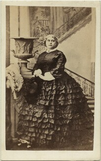 Princess Mary Adelaide, Duchess of Teck, by Camille Silvy - NPG x126766