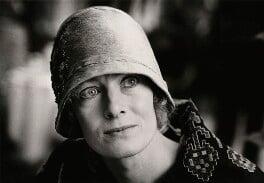 Vanessa Redgrave as Agatha Christie, by Jane Bown - NPG x28631