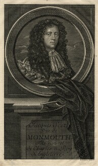 James Scott, Duke of Monmouth and Buccleuch, by Étienne Jehandier Desrochers, after  Sir Peter Lely - NPG D16775