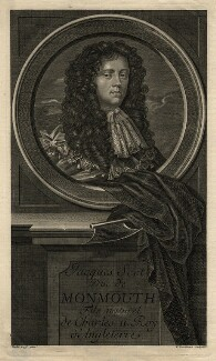 James Scott, Duke of Monmouth and Buccleuch, by Étienne Jehandier Desrochers, after  Sir Peter Lely - NPG D16776