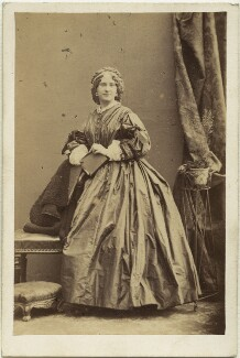 Louise Leclercq, by Camille Silvy - NPG x12173