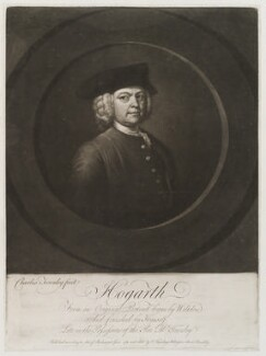 William Hogarth, by and published by Charles Townley, after  William Hogarth - NPG D19904