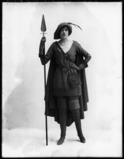 O. Chard as Rosalind in 'As You Like It', by Bassano Ltd, 1913 - NPG  - © National Portrait Gallery, London