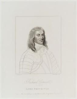 Richard Cromwell, by William Nelson Gardiner, after  Silvester (Sylvester) Harding, after  Samuel Cooper - NPG D19917
