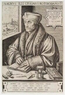 Desiderius Erasmus, by Hieronymus Cock - NPG D19919