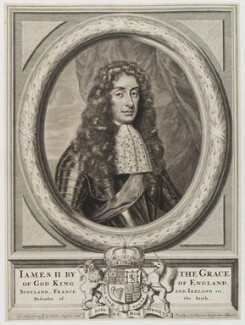 King James II, published by Nicolaes Visscher II - NPG D19924