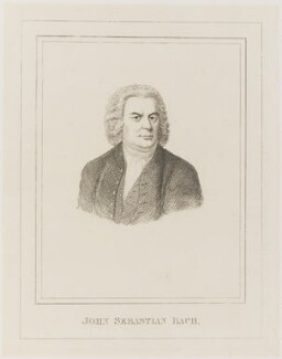 Johann Sebastian Bach, by Unknown artist - NPG D19928