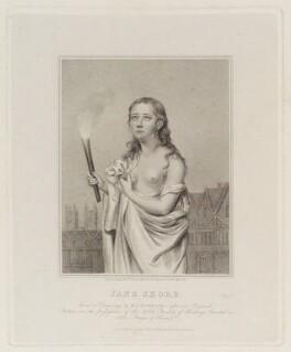 Called Jane Shore, by Edward Scriven, published by  Baldwin, Cradock & Joy, after  Walter Stephens Lethbridge - NPG D19938