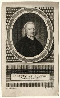 Starkey Myddelton, by Thomas Kitchin, after  M. Jenkin, mid 18th century - NPG D16789 - © National Portrait Gallery, London