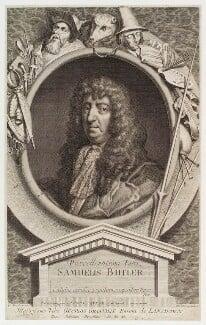 Samuel Butler, by George Vertue, after  Gilbert Soest, engraved 1730 - NPG D19940 - © National Portrait Gallery, London