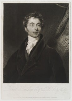 Robert Southey, by and published by Henry Edward Dawe, published by  Martin Colnaghi, after  Samuel Lane, published 20 February 1826 - NPG D19945 - © National Portrait Gallery, London
