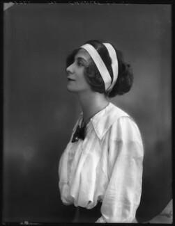 Florence Gladman (Mrs André Charlot), by Bassano Ltd - NPG x103949