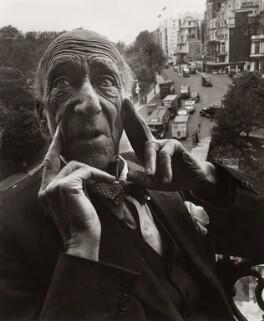 Algernon Henry Blackwood, by Norman Parkinson - NPG x30002