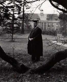 Sir Maurice Bowra, by Norman Parkinson - NPG x30003
