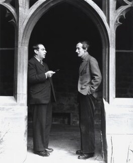 Sir Isaiah Berlin; Lord David Cecil, by Norman Parkinson - NPG x30005