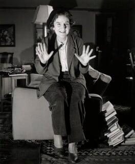 Enid Mary Starkie, by Norman Parkinson - NPG x30011