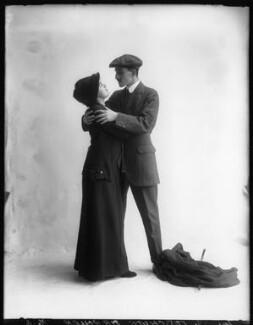 Margaret Chute as Mrs Cowper-Cowper; G. Trevor Roller as Parker in 'Lady Windermere's Fan', by Bassano Ltd - NPG x103965