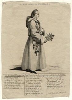 Possibly John Montagu, 4th Earl of Sandwich ('The Holy Order of St Almac'), published by Mary Darly - NPG D16796