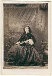 Helen Faucit (Helena (née Faucit Saville), Lady Martin), by Camille Silvy - NPG x23324