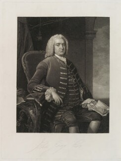 John Gray, by William Bond, after  Thomas Hudson - NPG D19951