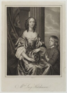 Lucy Hutchinson, by Samuel Freeman - NPG D19953
