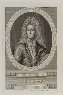 Aaron Hill, published by Thomas Rodd the Elder - NPG D19954