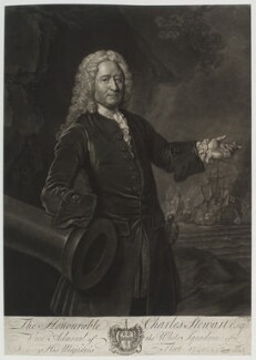 Charles Stewart, by John Faber Jr, after  Allan Ramsay - NPG D19963