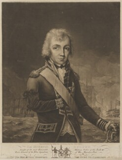 Horatio Nelson, by Robert Laurie, after  Unknown artist, published 13 November 1797 (1794) - NPG D16818 - © National Portrait Gallery, London