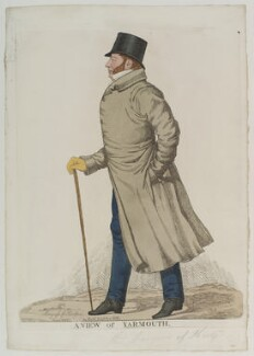 Francis Charles Seymour-Conway, 3rd Marquess of Hertford ('A View of Yarmouth'), by Richard Dighton, reissued by  Thomas McLean - NPG D19967