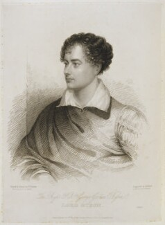 George Gordon Byron, 6th Baron Byron, by and published by Henry Meyer, after  James Holmes, published 8 November 1824 - NPG D19968 - © National Portrait Gallery, London