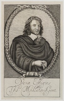 Thomas Middleton, by Unknown artist - NPG D19970
