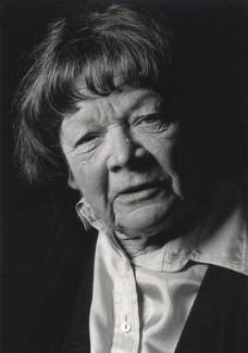 Elspeth Josceline Huxley (née Grant), by Granville Davies - NPG x24122