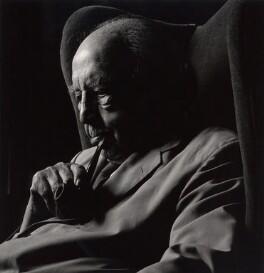 J.B. Priestley, by Granville Davies - NPG x23464
