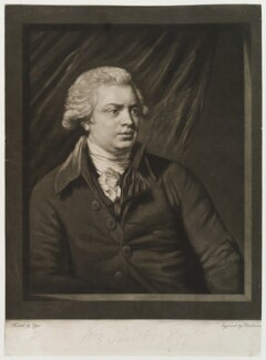 William Shield, by Robert Dunkarton, after  John Opie - NPG D19985