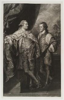 William Henry Cavendish Bentinck, 3rd Duke of Portland; Lord Edward Charles Bentinck, by and published by John Raphael Smith, after  Benjamin West - NPG D19986