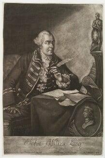 John Wilkes, by Johann Philipp Haid, published by  Kaiserlich Franziskiche Academie - NPG D19995