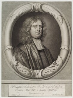 John Tillotson, by Abraham Blooteling (Bloteling), after  Sir Peter Lely - NPG D20006