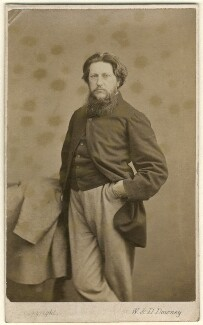 Ford Madox Brown, by W. & D. Downey - NPG Ax7568
