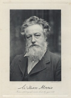 William Morris, by Sir Emery Walker, printed by  Walker & Cockerell - NPG Ax19697