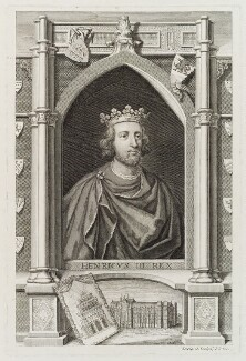 King Henry III, by George Vertue - NPG D20022