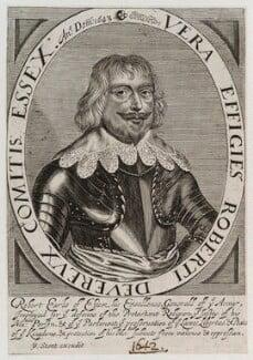 Robert Devereux, 3rd Earl of Essex, published by Peter Stent - NPG D20023