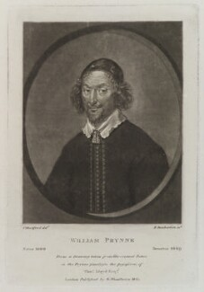 William Prynne, by Robert Dunkarton, published by  Samuel Woodburn, after  Samuel Woodforde - NPG D20032
