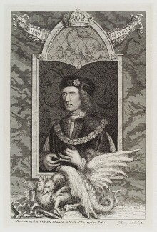King Richard III, by George Vertue - NPG D20033