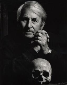 Sir (Alan Charles) Laurence Whistler, by Granville Davies - NPG x29810
