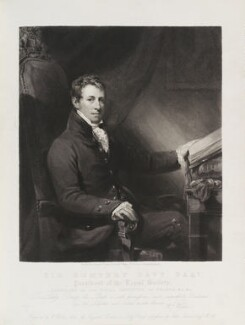 Sir Humphry Davy, Bt, by and published by William Walker, after  John Jackson - NPG D20065