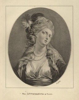 Lucy de Loutherbourg (née Paget), after Philippe Jacques de Loutherbourg - NPG D16820