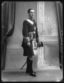 Hugh Somerset Kevill-Davies, by Bassano Ltd, 17 December 1910 - NPG x104108 - © National Portrait Gallery, London