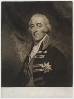 John Pitt, 2nd Earl of Chatham, by Charles Turner, after  John Hoppner - NPG D20092