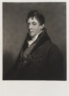 George Granville Leveson-Gower, 1st Duke of Sutherland, by Charles Turner, after  William Owen - NPG D20095